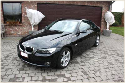 Rent a BMW 320 coupe