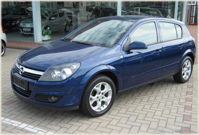 Opel Astra 4 Doors